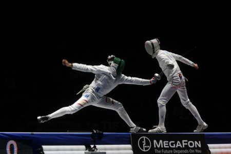 World Cadet and Junior Fencing Championships Moscow 2012 Stock Photo - 13062318