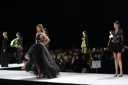 Volvo Fashion Week Moscow 2012..Valentin Yudashkin fashion show Editorial