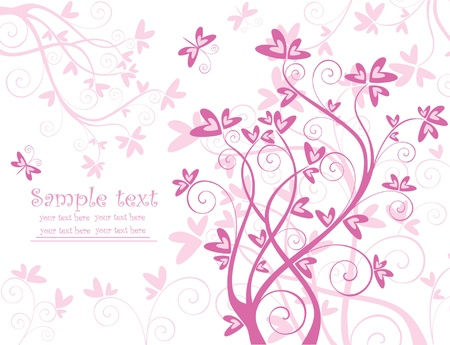 Beautiful valentine card Stock Vector - 18760883