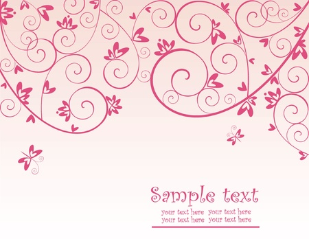 Valentine red card Stock Vector - 18760811