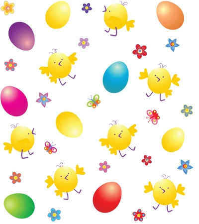 Easter wallpaper Vector