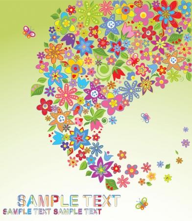 flore: Flowers Illustration