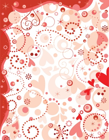 Happy valentine's day! Stock Vector - 18760828