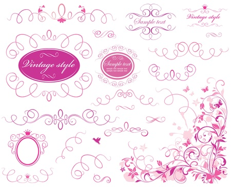 royal invitation: Valentine borders