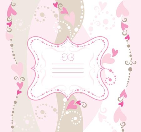 decorative: Valentine greeting card