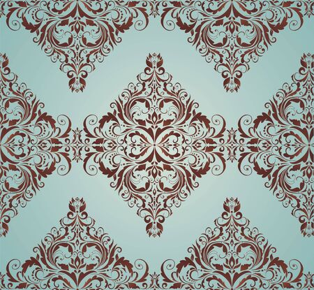 Damask ornate wallpaper Vector