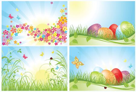 Easter cards Stock Vector - 18806760