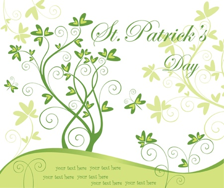 Greeting card for St Patrick Stock Vector - 18806679
