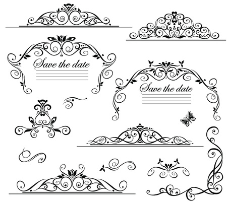 lineas decorativas: Guardar la fecha