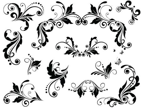 corner design: Vintage design