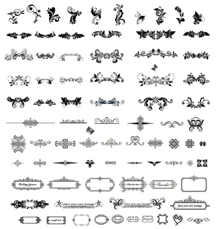 Vintage elements for your design Vector