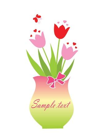 cartoon bouquet: Bouquet Illustration