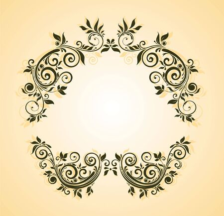 marriage invitation: Floral header