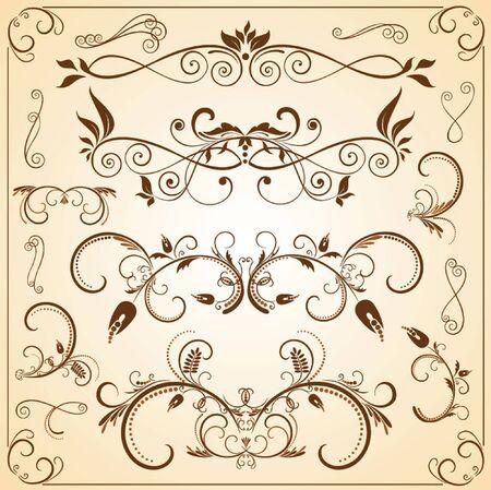 Vintage design elements Stock Vector - 18806790