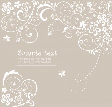 inbjudan: Bröllop kort Illustration