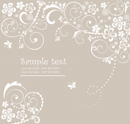 Wedding card Stock Vector - 18806812