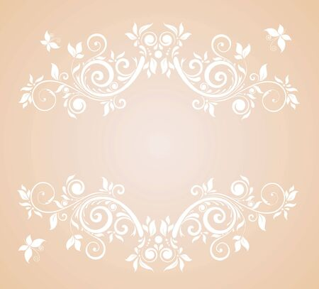Wedding pastel card Vector