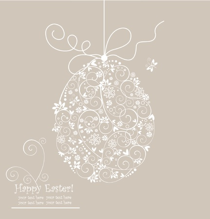 Easter card Stock Vector - 18838302