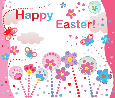 april clipart: Happy easter!