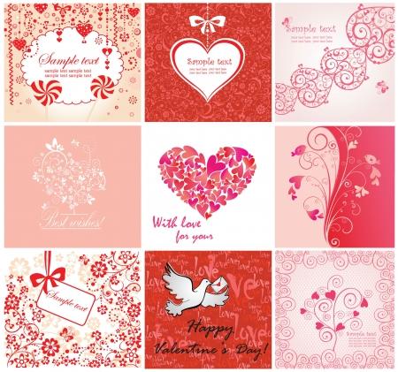 date of birth: Valentine greeting cards