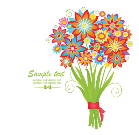 Bouquet Stock Vector - 18838256