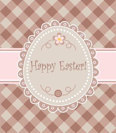 handiwork: Easter napkin Illustration