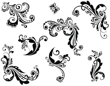 baroque: Vintage beautiful design Illustration