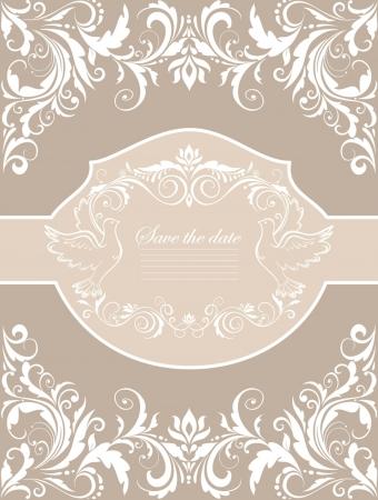 Wedding banner Vector