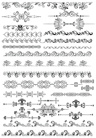 Decorative borders Stock Vector - 18858830