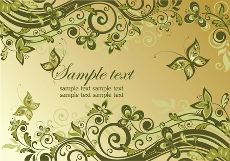 Vintage ornate banner Stock Vector - 18858699