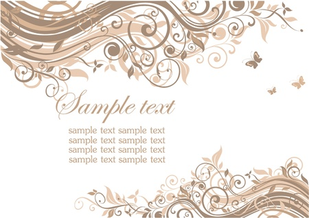 Wedding template Stock Vector - 18858648