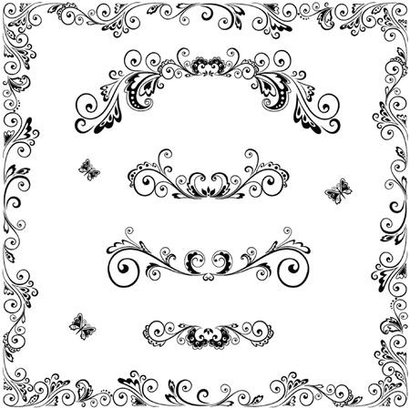 Decorative frame Stock Vector - 18858487