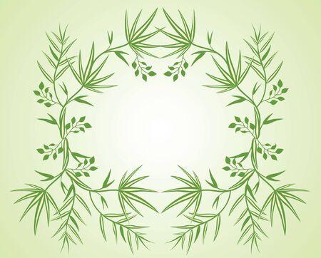 palm wreath: Floral wreath
