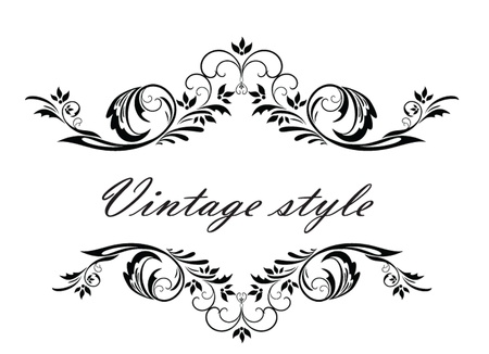 ornamented: Vintage header Illustration