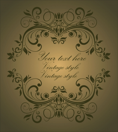 Vintage style Stock Vector - 18858459