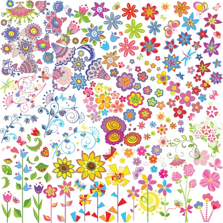 Flowers set Stock Vector - 18858883