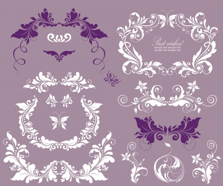 ornamented: Beautiful design for wedding invitations