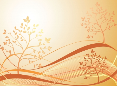 Abstract autumn background Stock Vector - 18867812