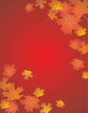 profusion: Autumn red card