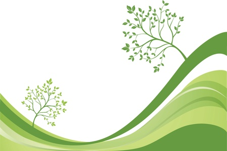 Ecological background Stock Vector - 18874168