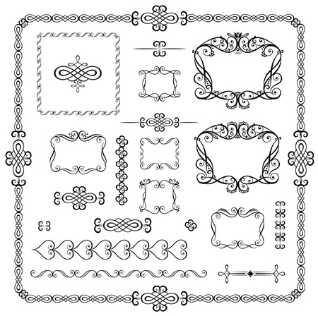 Decorative elements Stock Vector - 18868046