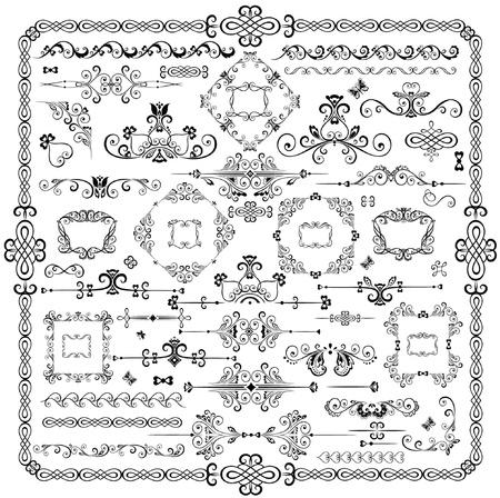 Retro design elements Stock Vector - 18894134
