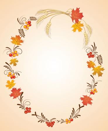 sheaf: Autumn frame