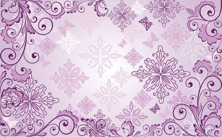 purple lilac: Beautiful floral lilac background