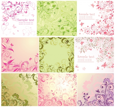 wed beauty: Beautiful floral cards