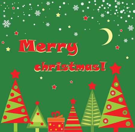 Xmas card Stock Vector - 18921529