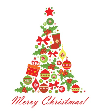 Christmas tree Stock Vector - 18921353