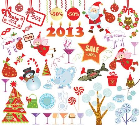 Christmas set Stock Vector - 18921627