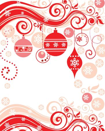 Abstract christmas background Stock Vector - 18921320