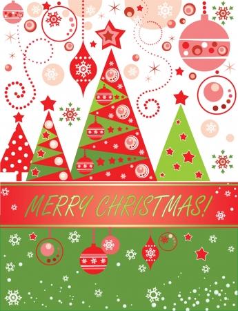 muerdago navide�  � �±o: Tarjeta de Navidad